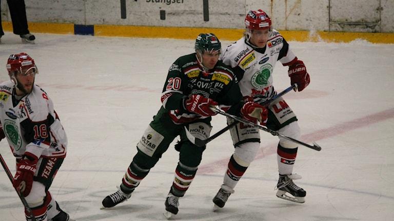Tingsryds nya hockeyspelare Kari Sihvonen. Foto: Anna Wessman/Sveriges Radio