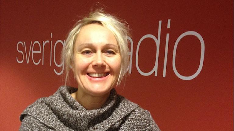 Karin Seiborg, musiker och sångerska. Foto: Anne Marchal/ Sveriges Radio