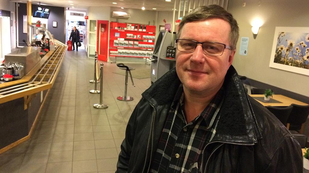 Lars-Ove Johansson, LRF. Foto: Per Brolléus/ Sveriges Radio