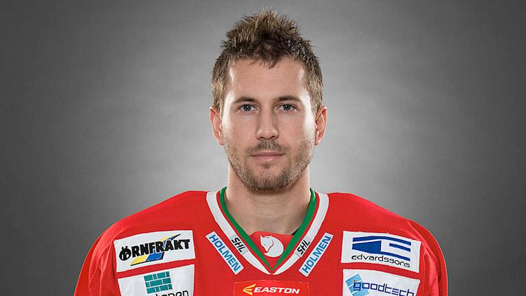 Hockeyspelaren Jeff Tambellini. Foto: Stig Kenne/TT