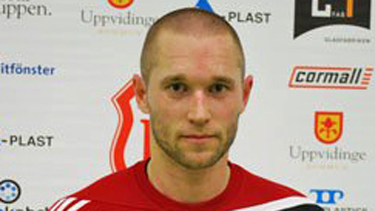 Handbollsspelaren Torbjörn Jacobsson i Alstermo. Foto: Alstermo IF