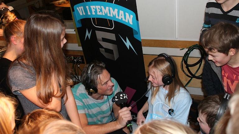 Vinnarintervjun med Anton och Matilda från Öjaby skola.