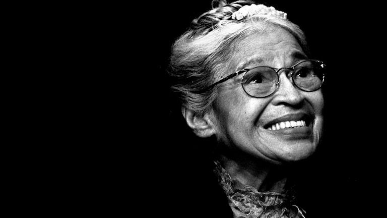 Rosa Parks är en av de kvinnor som är med på Linda Alfons sida. Foto: TT