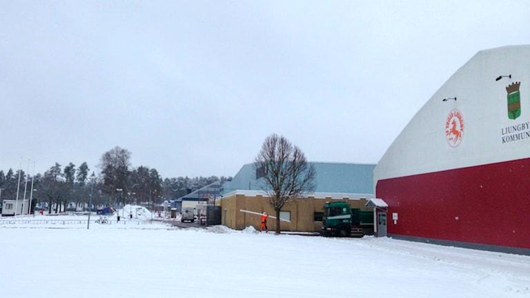 Arenan i Ljungby. Foto: Jerry Sandberg/Sveriges Radio