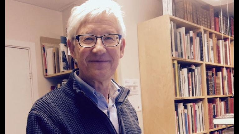 Rolf Maurin, bibliotekarie. Foto: Karin Ernstsson/Sveriges Radio