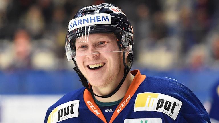 Tuomas Kiiskinen i Växjö Lakers. Foto: Mikael Fritzon/TT