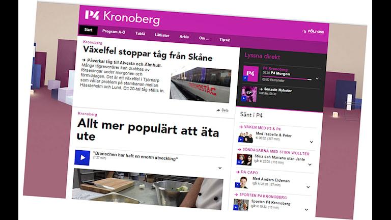 P4 Kronobergs sajt