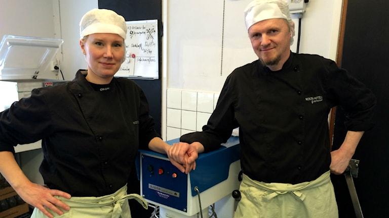 Patrik Johansson och Maria Håkansson.