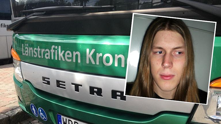 Andreas Hvegholm. Foto: Sveriges Radio/Privat