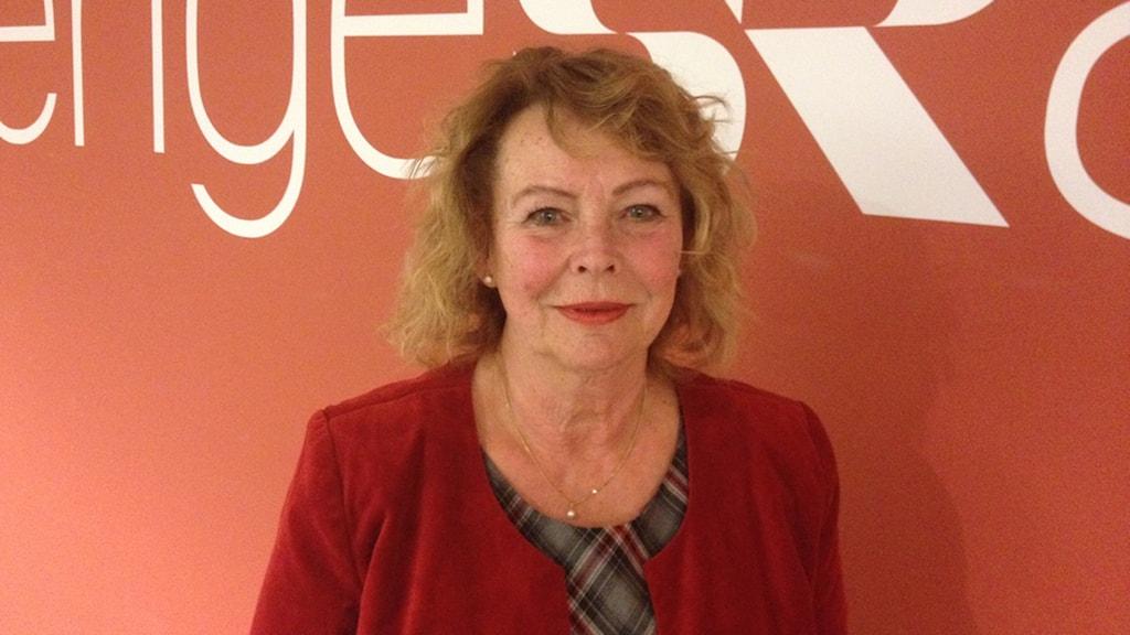 Eva Johansson (C), ordförande i kultur- och fritidsnämnden i Växjö. Foto: Anne Marchal/Sveriges Radio