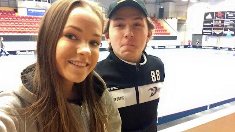 Alicia Carlsson och Hampus Håkansson