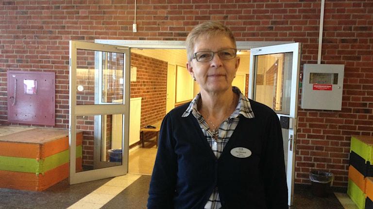 Ewa Wånehed är rektor Braås skola.