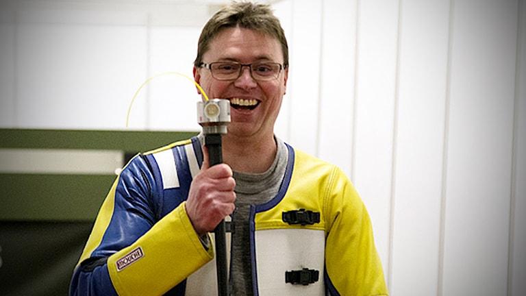 Emil Martinsson i luftvapen-EM.