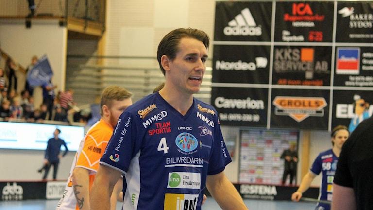 Johan Roos i Växjö IBK (Vipers).
