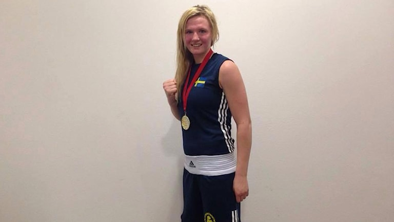 Boxaren Stephanie Thour. Foto: Privat