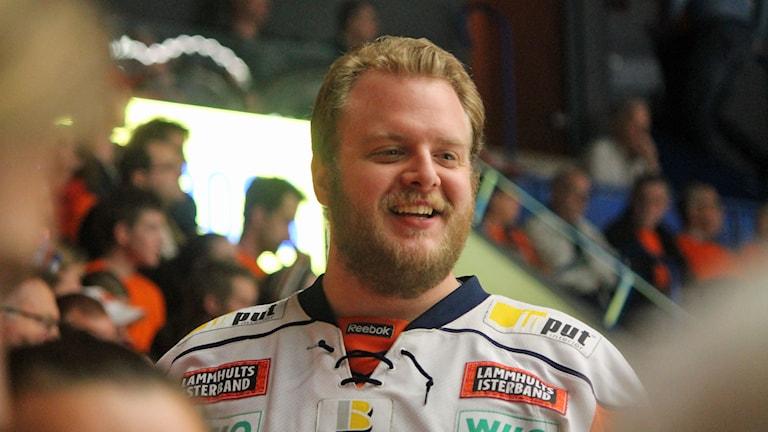 Christoffer Mattisson i Växjö Lakers Lakejer