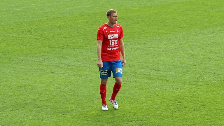 Mario Vasilj i Östers IF. Foto: Michael Ohlsson/Sveriges Radio