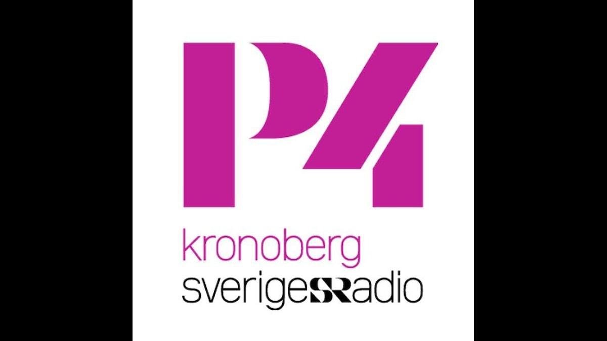 P4 Kronobergs logga.