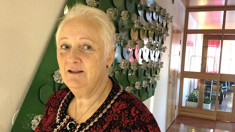 Monica Widnemark vid ett tidigare tillfälle. Foto: Per Brolléus/Sveriges Radio