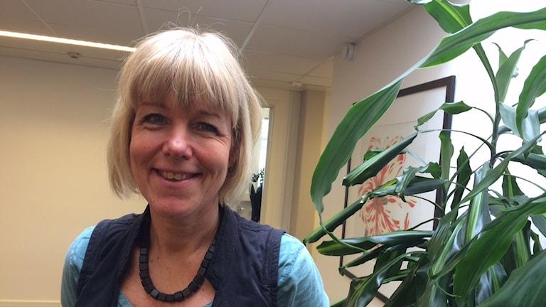 Camilla Holmqvist, chef för utbildningsförvaltningen i Växjö.