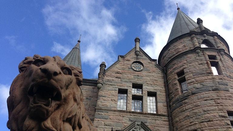 Teleborgs slott i Växjö. Foto: Jonatan Bergman/ Sveriges Radio
