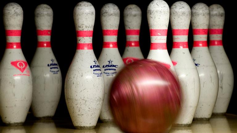 Ett bowlingklot