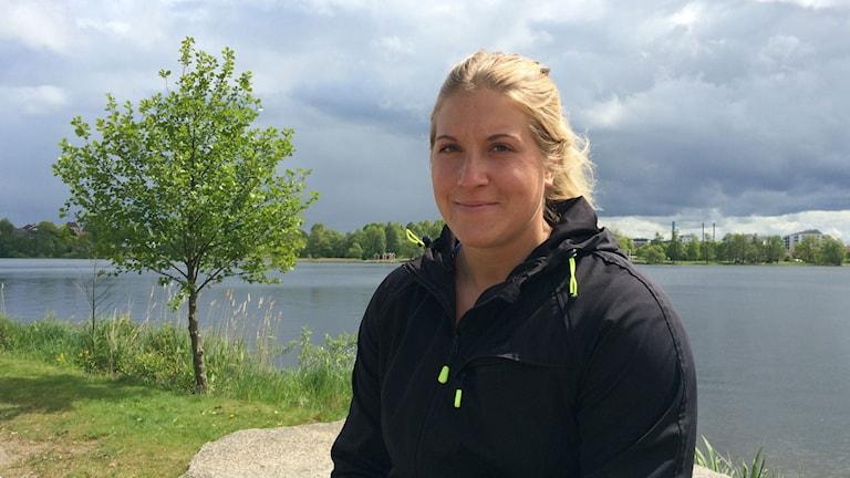 Fanny Roos. Foto: Anna Tigerström/Sveriges Radio