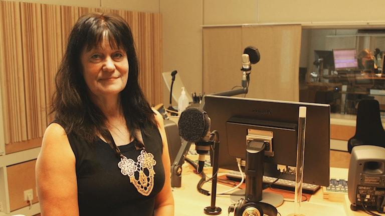 Marie Länne Persson. Foto: Fredrik Jarl/Sveriges Radio