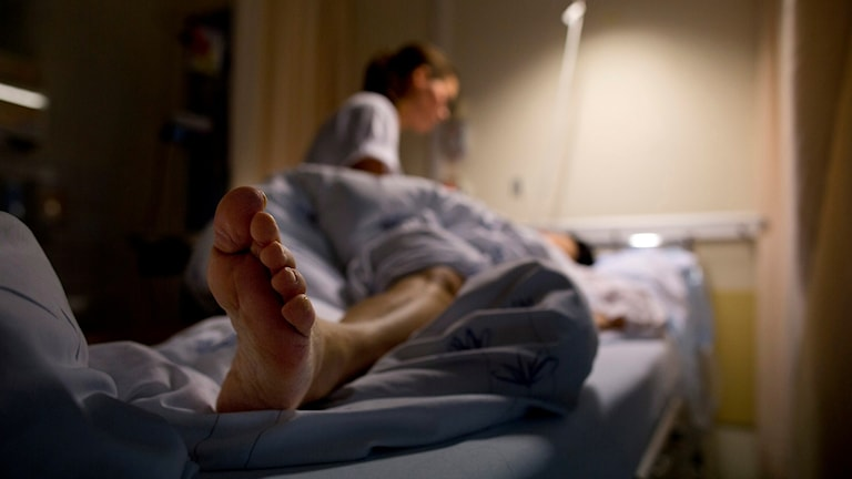 En sjuksköterska