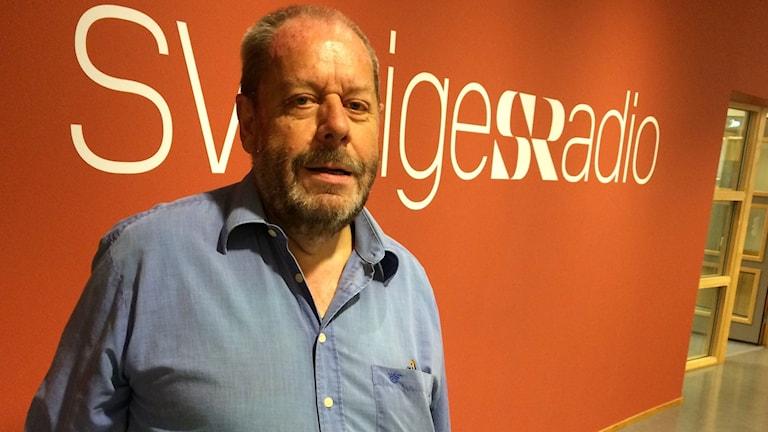 Arne Jensen som väntat länge på besked om skuldsanering. Foto: Per Brolléus/Sveriges Radio