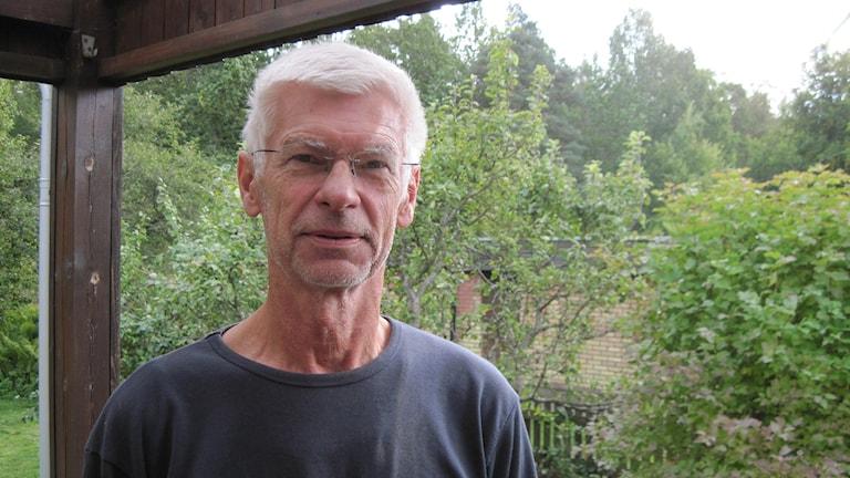 Per Darell, naturskyddsföreningen i Alvesta. Foto: Roger Bergvik / Sveriges Radio.