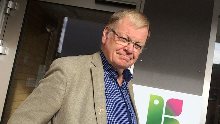 Lennart Värmby (V), regionråd Region Kronoberg. Foto: Lena Gustavsson/Sveriges Radio