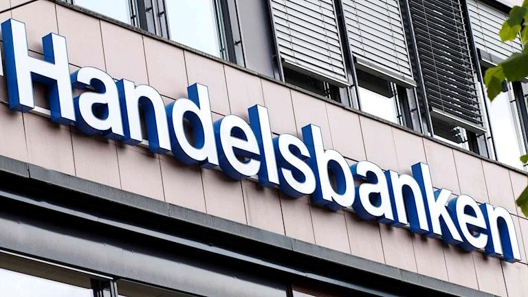Handelsbankens logga.
