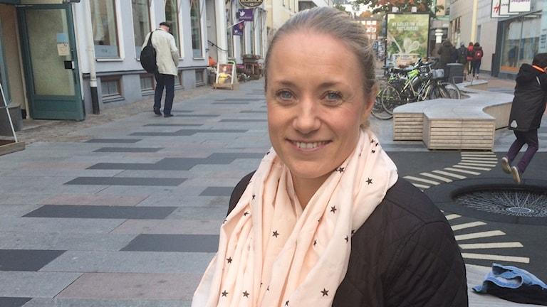Joanna Kron på GoTech. Foto: Karin Ernstsson/Sveriges Radio
