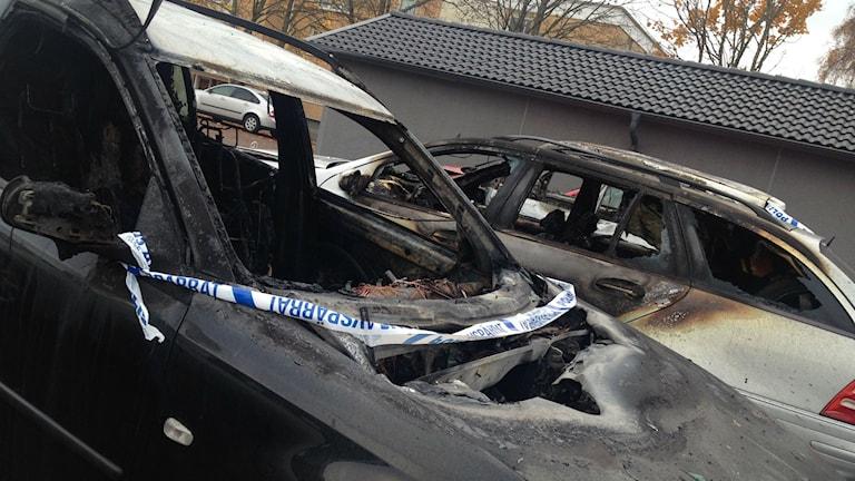 Bilar brann på Dalbo igen