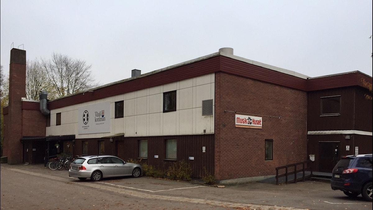 Musikhuset/Bergendalska gården i Växjö. Foto: Peje Johansson/Sveriges Radio