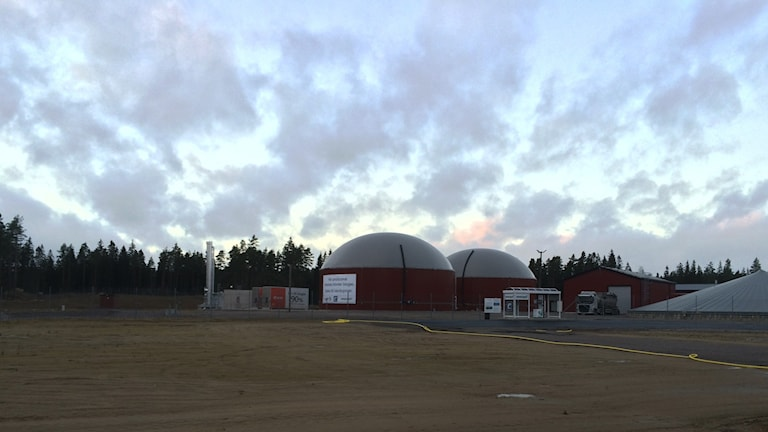 Biogasanläggningen i Alvesta
