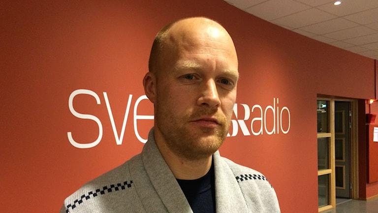 Andreas Jörnefeldt, instruktör i självförsvarsmetoden Krav Maga. Foto: Anne Marchal/Sveriges Radio