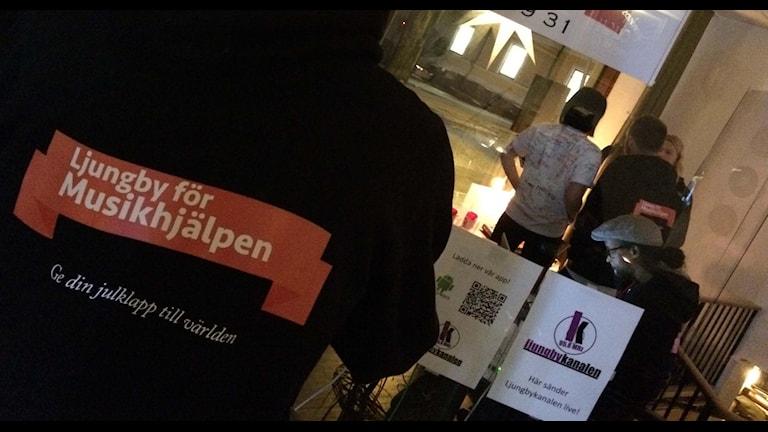 Insamlingen i Ljungby.