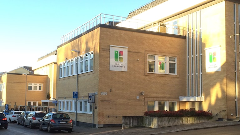 Bild på Regionens hus i Växjö