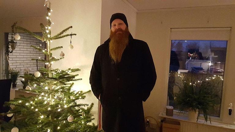 Tobias Mannerstorm tävlar i Sveriges Mästerkock i TV 4. Foto: Privat