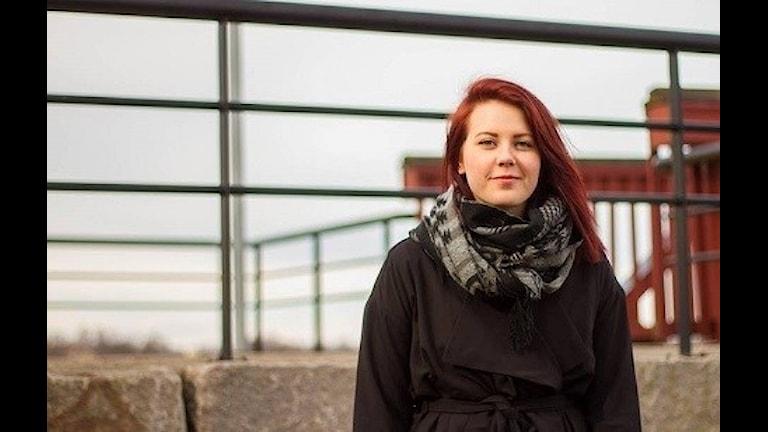 Ronja Ottosson, ordförande i ungdomsjouren Amino.