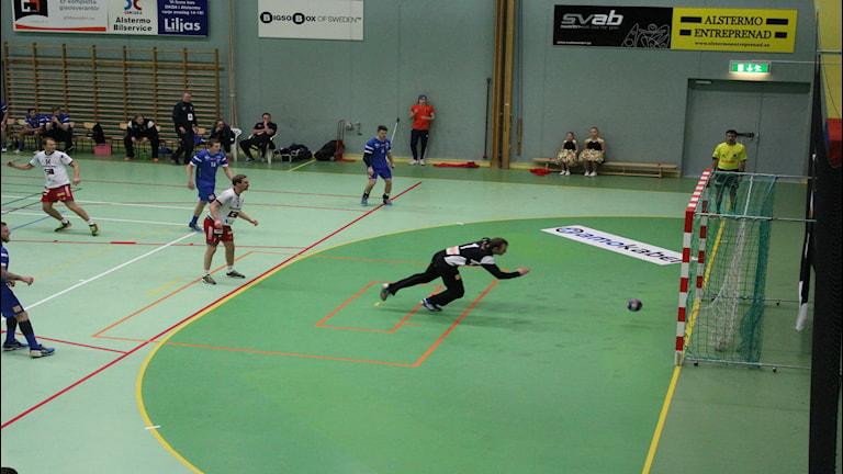 Daniel Steen var en av många bra spelare i Alstermo