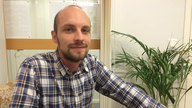 Henrik Lacko, rektor på Växjö internationella grundskola som överklagar bidragen från Växjö kommun