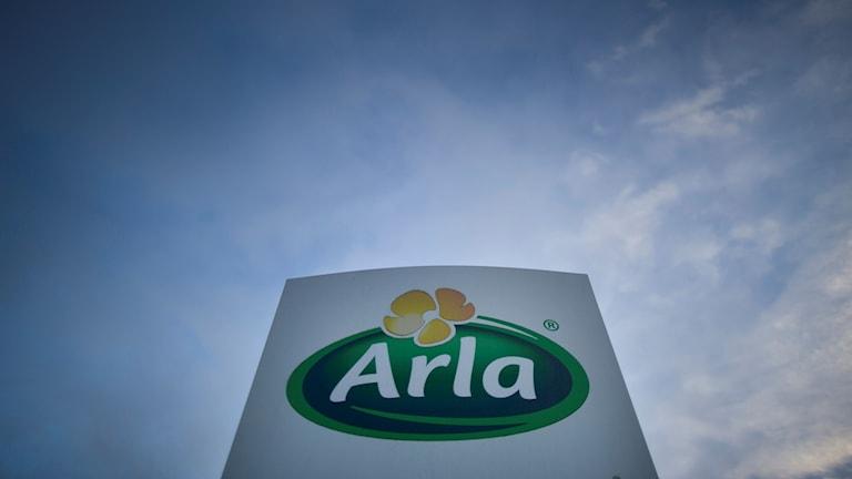Uppdrag granskning har undersökt hur Arla har spenderat pengar på flådig representation trots att mjölkkris råder.