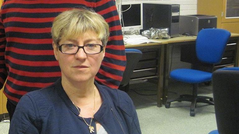 Anna-Karin Höjer, rektor på Lammhults skola.
