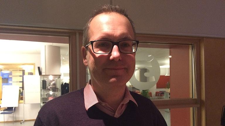Anders Elingfors, vverksamhetschef utbildningsförvaltningen i Växjö kommun. Foto: Anne Marchal/Sveriges Radio