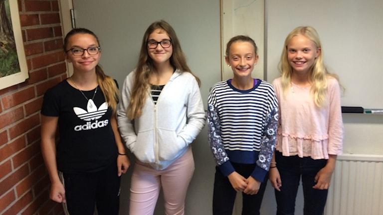 4 5:e klassare på Lillestadskolan i Växjö