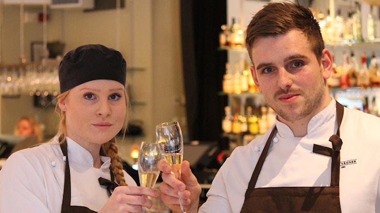Hanna Karlsson och Pontus Assarsson
