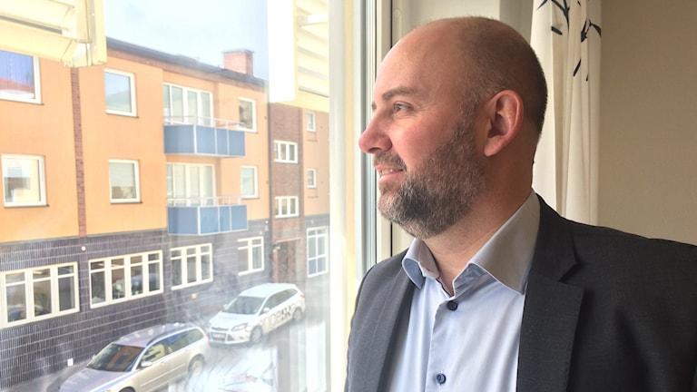 Det är rimligt att man som kommun inte ska komma undan säger kommunalrådet Magnus Gunnarsson (M) FOTO: Lars-Peter Hielle